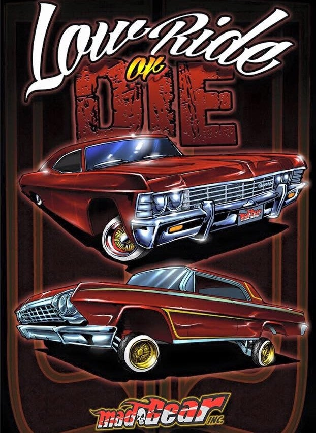 "Image of ""LowRide Or Die"" T-Shirt"