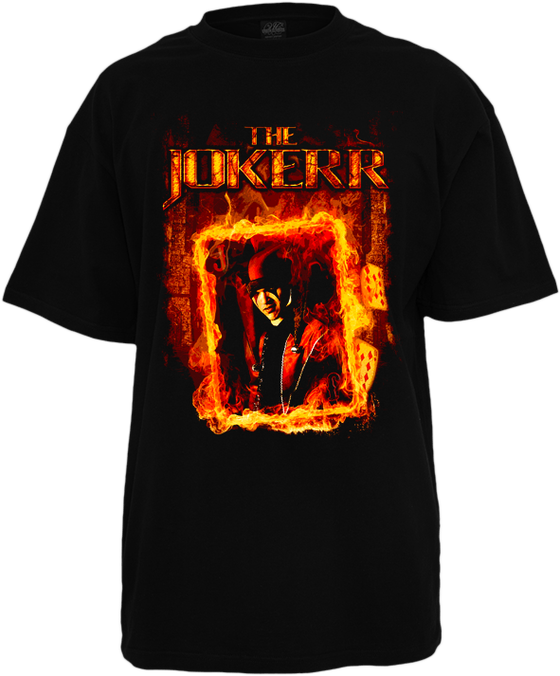 "Image of The Jokerr ""Firecard"" Tee"