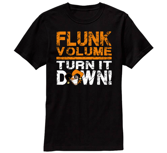 "Image of ""Flunk Volume"" Collectors Tee - AUTOGRAPHED"
