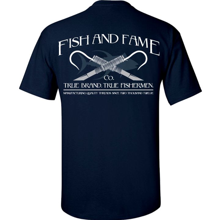 Image of Classic Gaff Tee (navy)