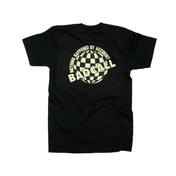 "Image of BADCALL ""World"" Tee - Black (2016)"