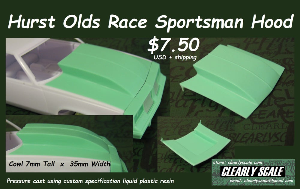 Image of Hurst Olds Race Sportsman Hood