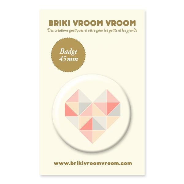 Image of Badge Coeur