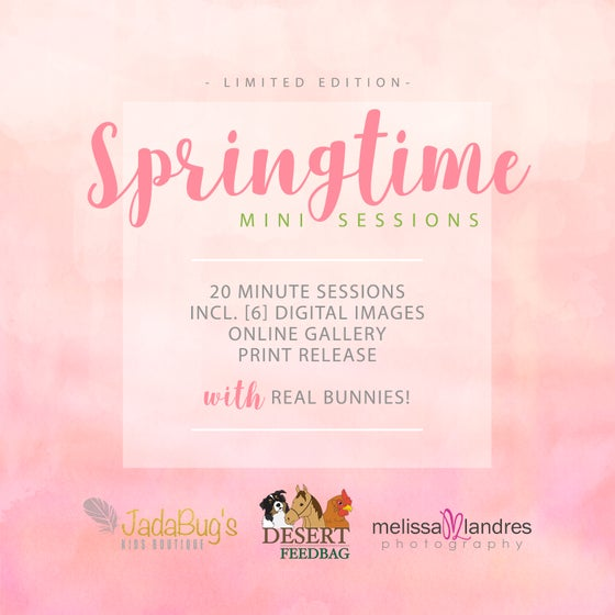 "Image of Limited Edition ""Springtime"" Mini Sessions at Jadabug's"