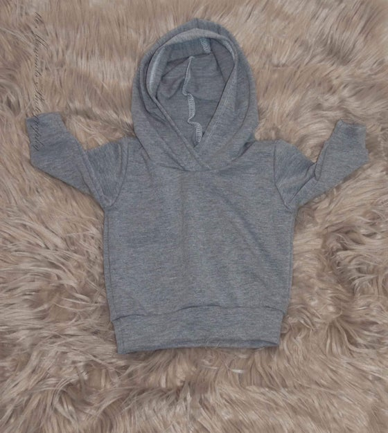 Image of Light Grey Hoodie