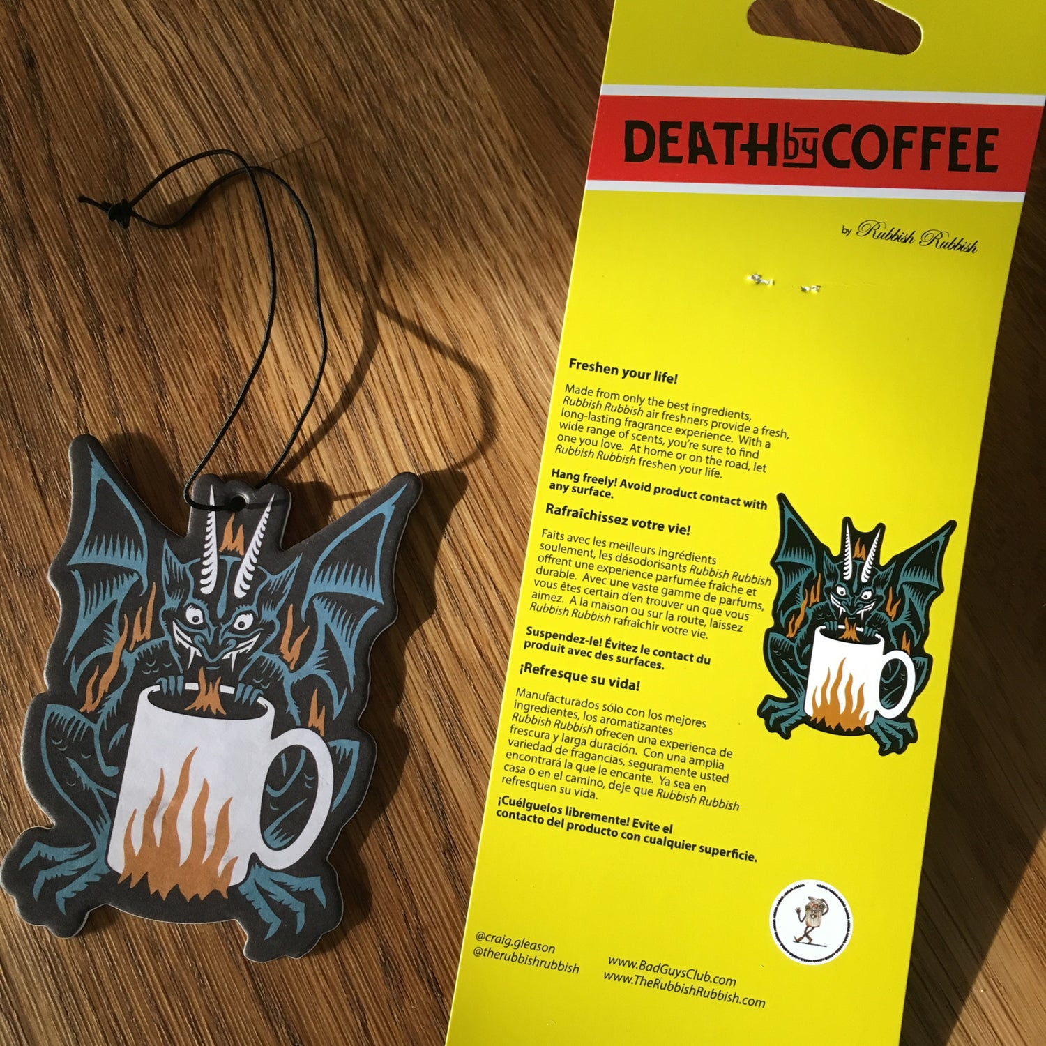 Image of Rubbish Rubbish 56 Death by Coffee
