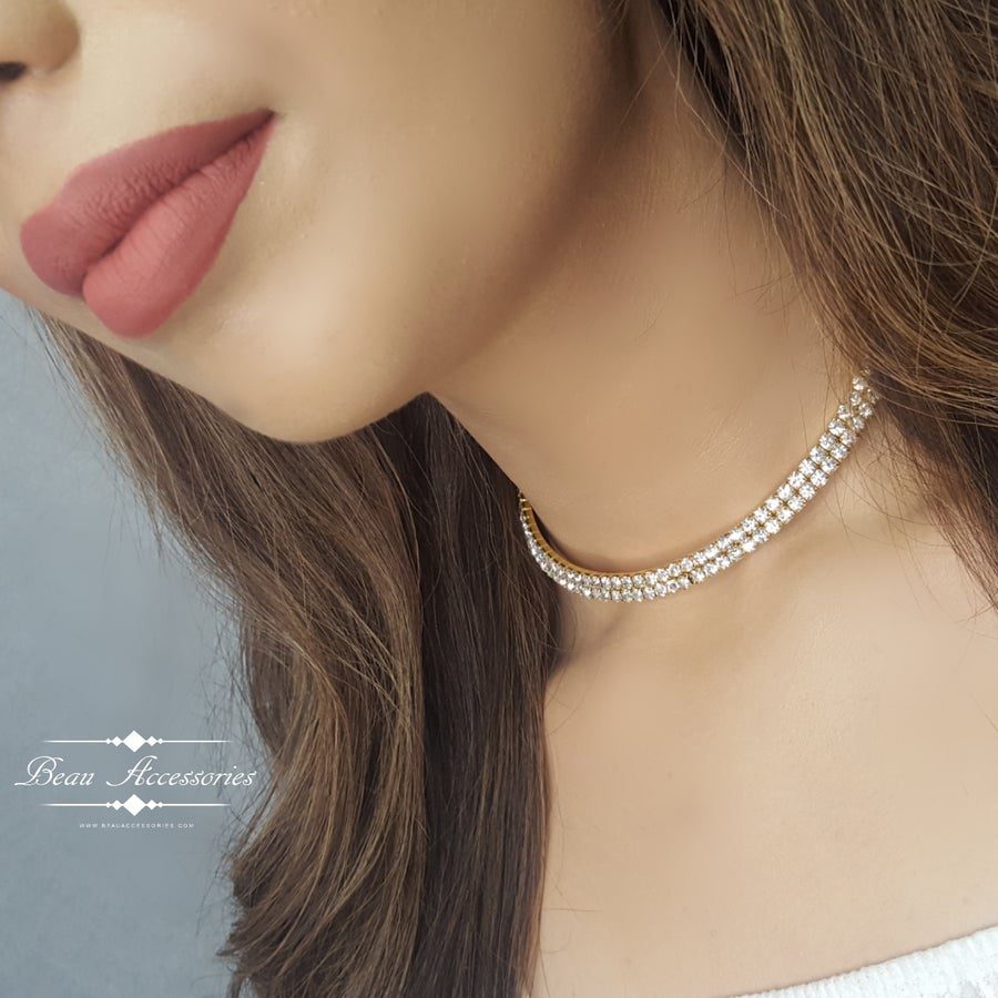 Image of Double Golden Choker