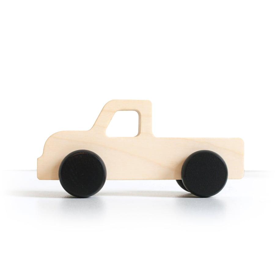 Image of Voiture en bois - Truck