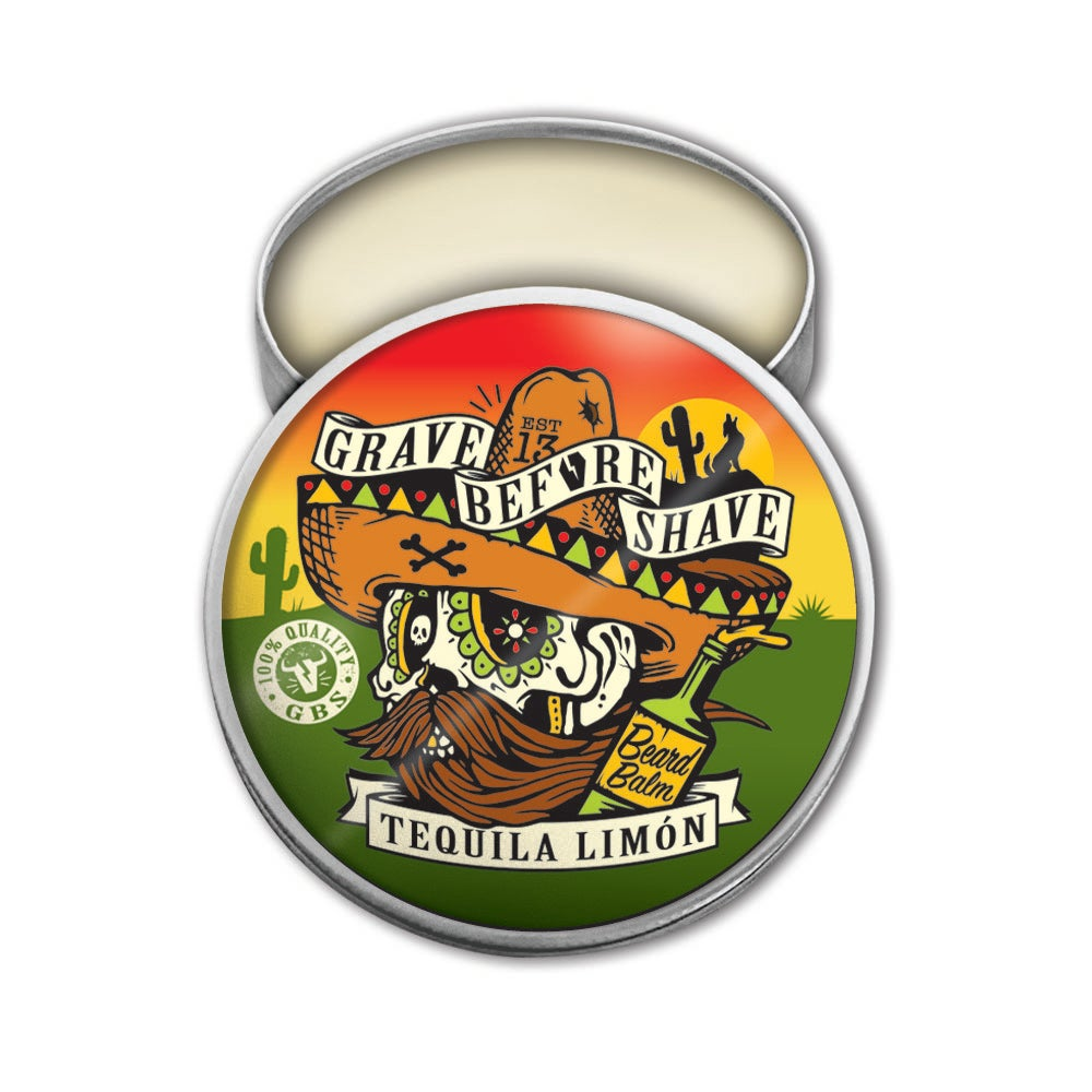 Image of GRAVE BEFORE SHAVE™ Tequila Limon Blend Beard Balm
