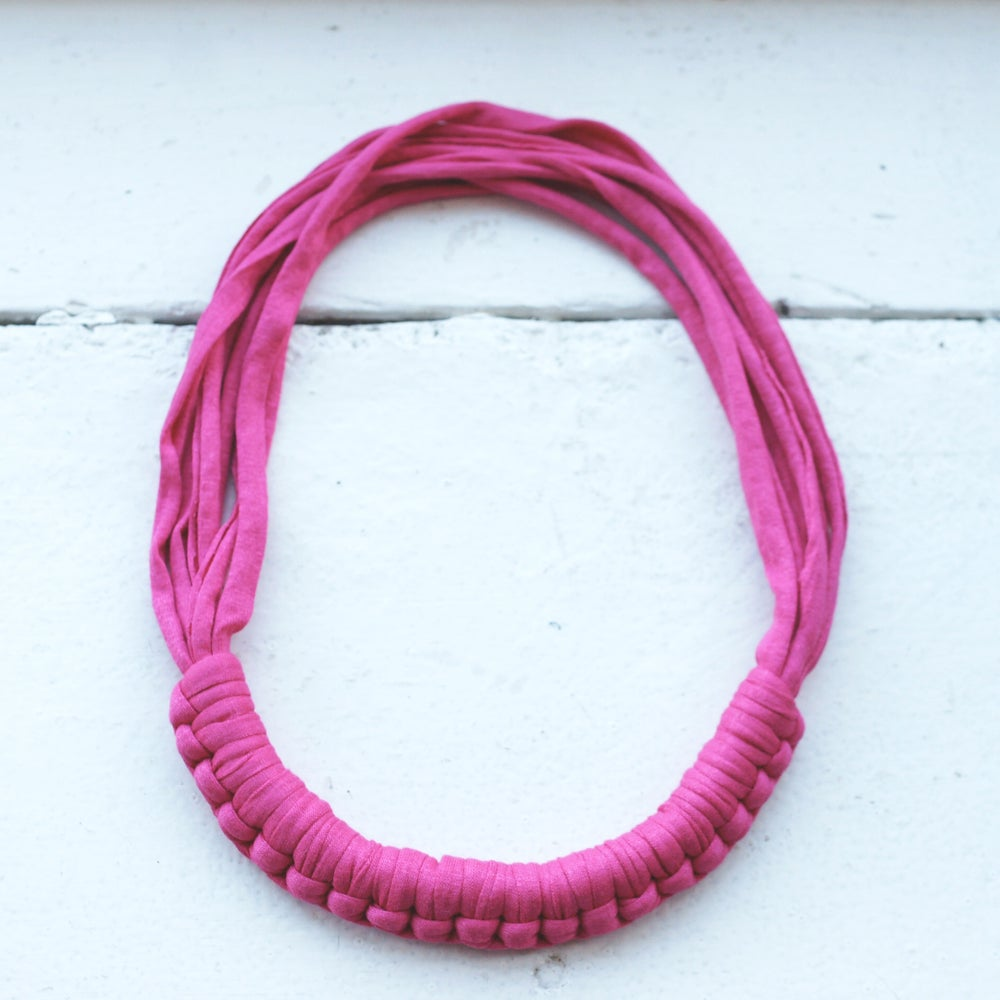 Image of Macy necklace - Pink