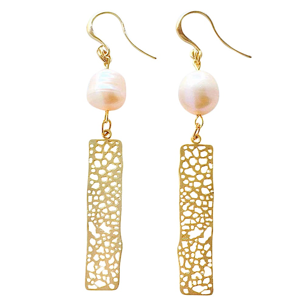 Image of LACEY PEARL EARRINGS