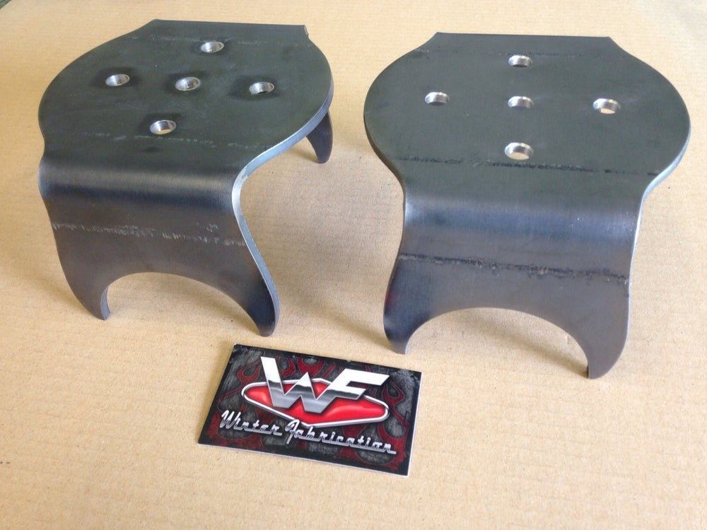 Image of Universal Rear Bag Over Axle Lower Brackets