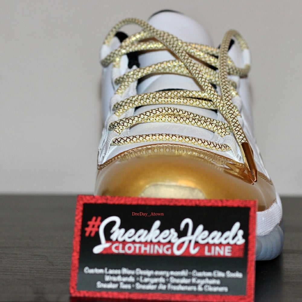 "Image of Exclusive ""Golden Fleece Pack"" Custom Rope Laces"