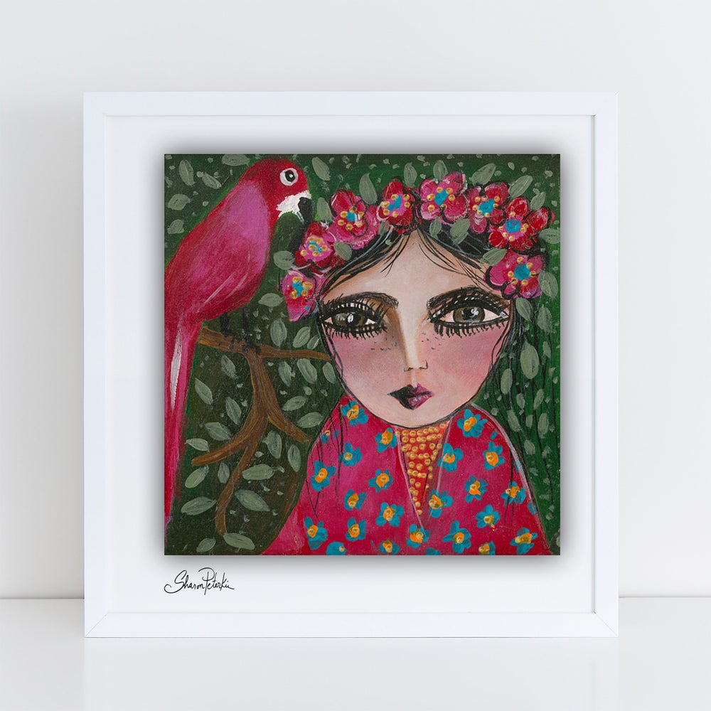 Image of My Little Frida PRINT