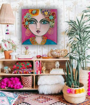 Image of Frida Love Print