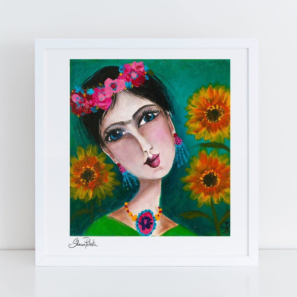 Image of Sunflower Day PRINT