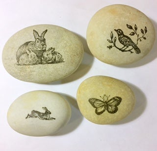 Image of Stamped Stones -  Small Treasures