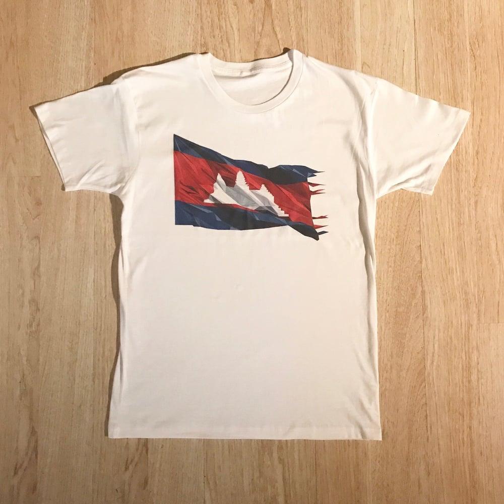 Image of Cambodia Flag Tee