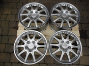 "Image of Genuine Porsche Carrera 4 BBS Sport Design GT3 2-piece Split Rim 18"" 5x130 Alloy Wheels"