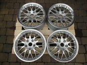 "Image of Genuine Porsche Boxster BBS Classic II 2-piece Split Rim 18"" 5x130 Alloy Wheels"