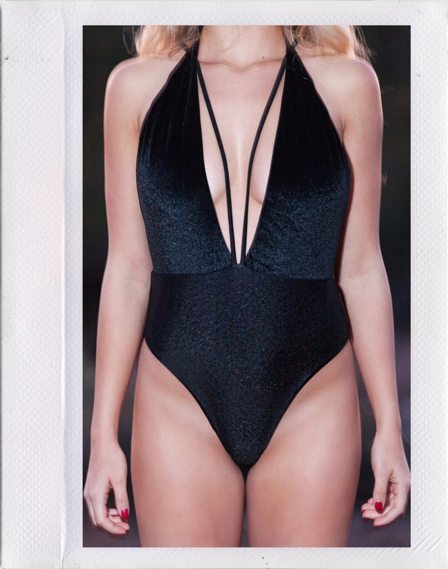 Image of Jackson Velvet One Piece