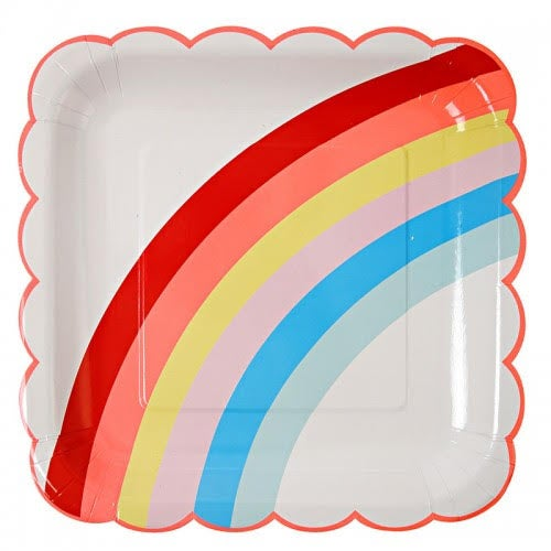 Image of Rainbow Plates - Large