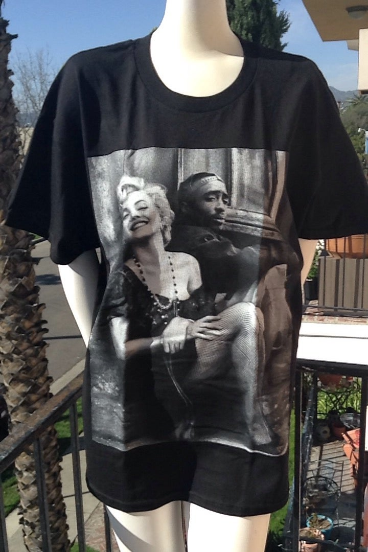 Image of Marilyn & 2Pac