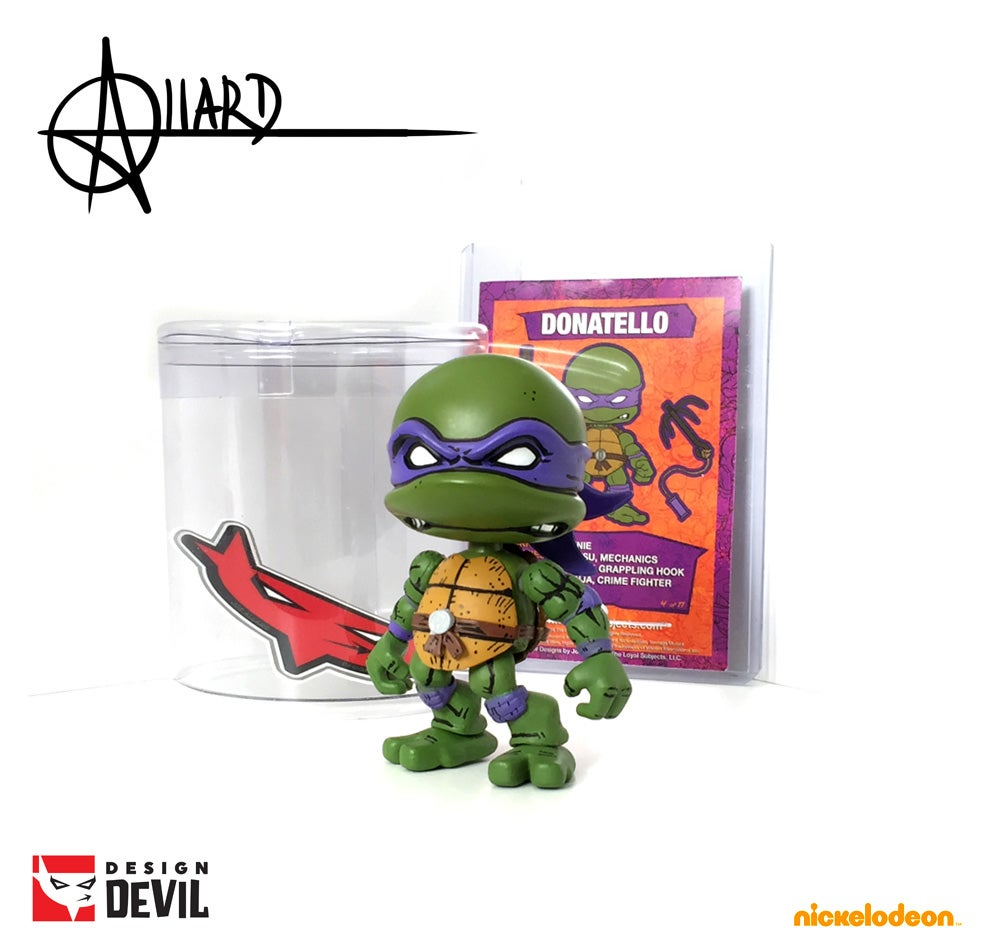 Image of Custom Comic Detail Donatello