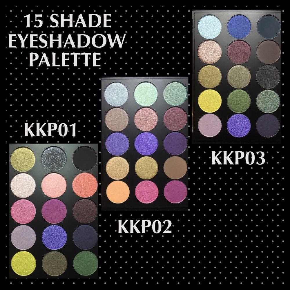 Image of 15 SHADE EYESHADOW PALETTE