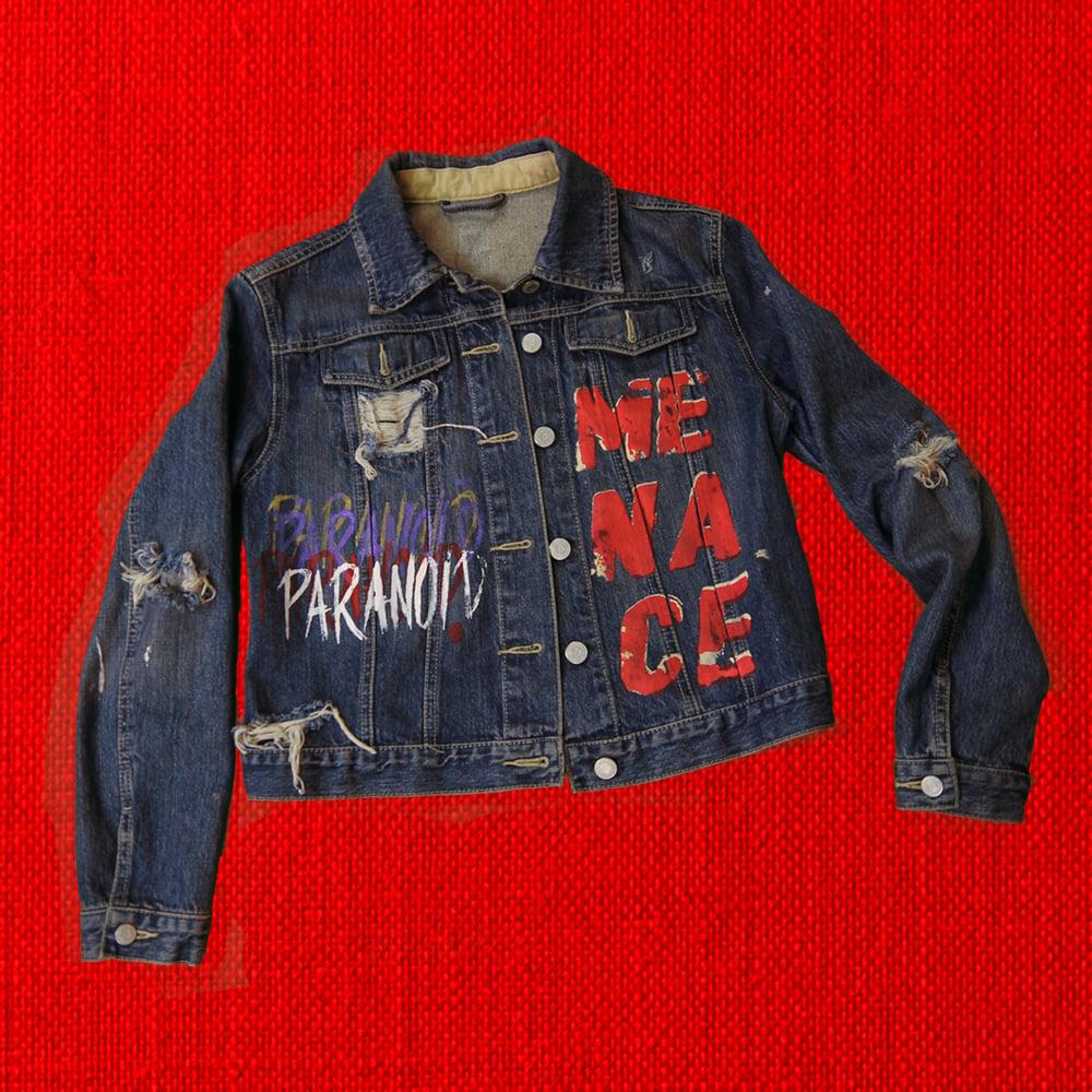 Image of PARANOID! Womens Jean Jacket