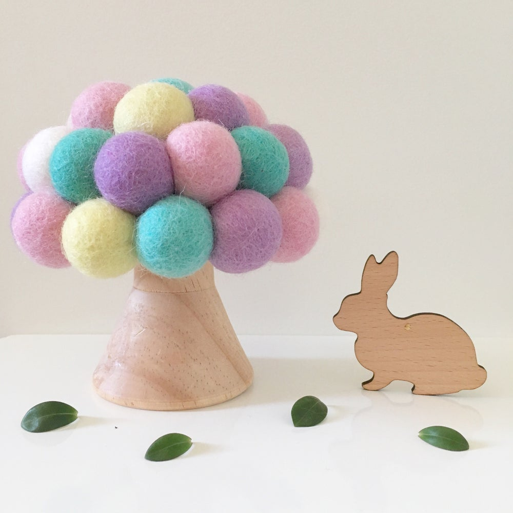 Image of Woolly Felt Ball Mushroom