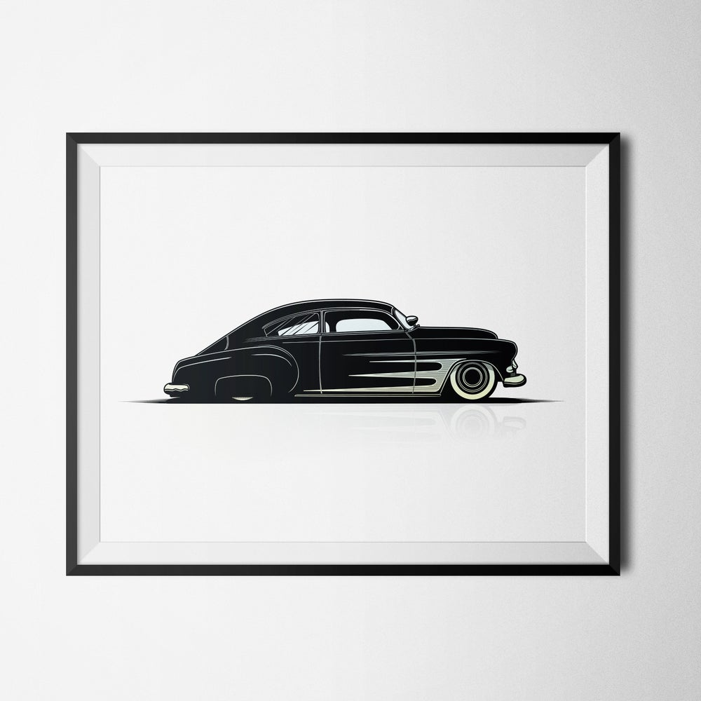 Image of CHOPPED CHEVY - PRINT (8.5X11)