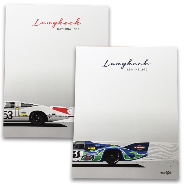"Image of 908 and 917 ""Langheck"" Prints"