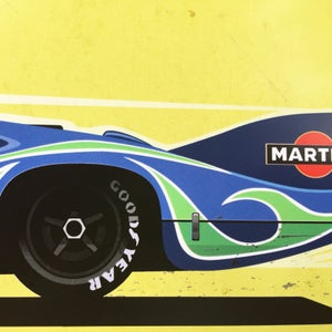 """Image of 908 and 917 """"Langheck"""" Prints"""