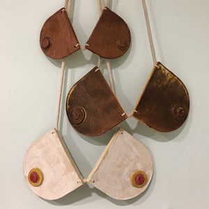 Image of Breastplate Necklace Wall Hanging