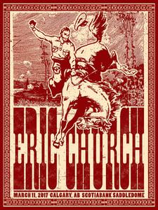 Image of Eric Church, Calgary, AB 03.11.17
