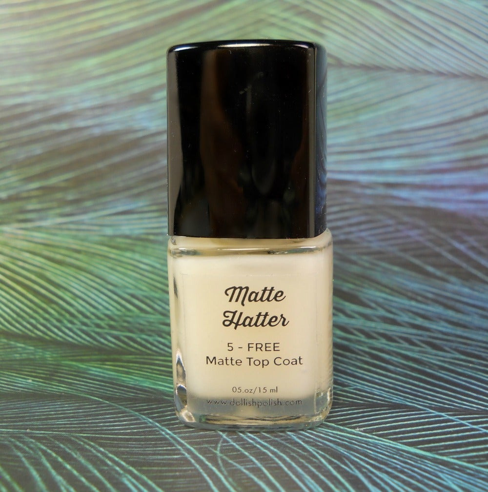 Image of Matte Hatter - Dollish Polish Matte Top Coat