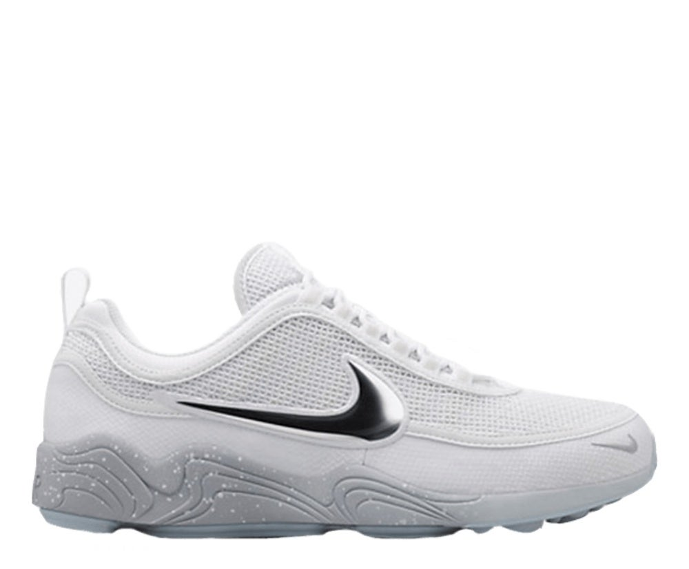 "Image of NIKE LAB AIR ZOOM SPIRIDON ""WHITE GREY"" 849776-100"
