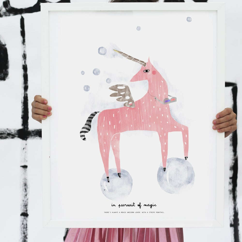 Image of ART PRINT | UNICORN