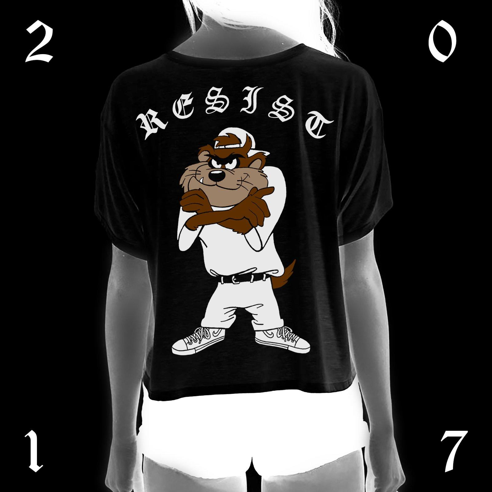"""""""RESIST"""" TEE"""