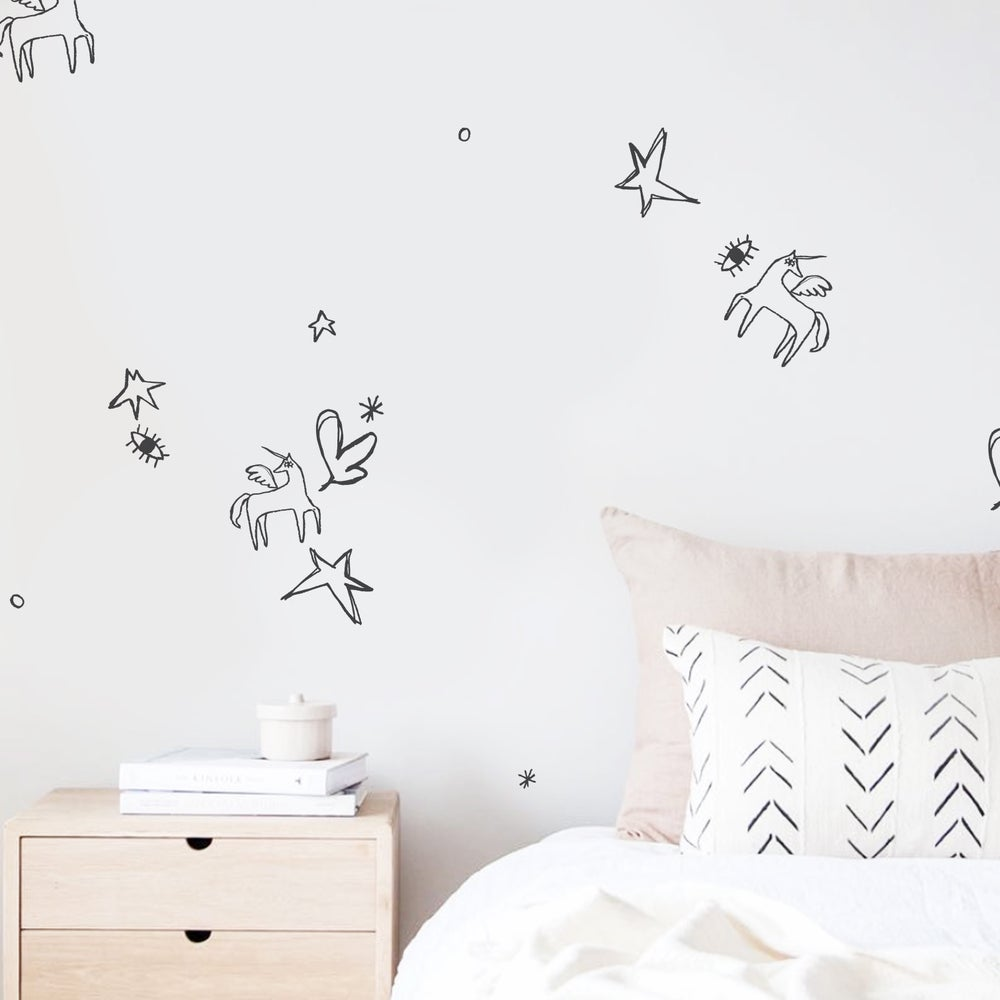 Image of STICKER WALL FURNITURE | PURSUIT OF MAGIC