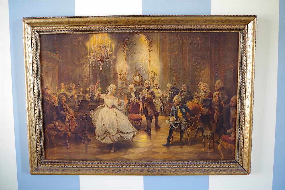 Image of Baroque Vintage Print