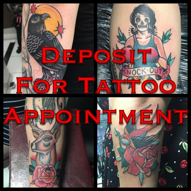 Image of Deposit For Tattoo