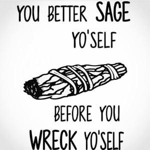 Image of LARGE WHITE SAGE BUNDLE|