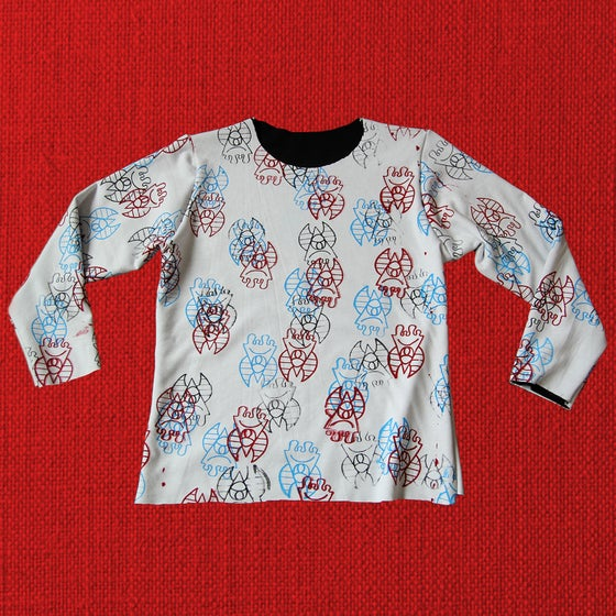 "Image of All-over ""DIABLO"" print longsleeve"