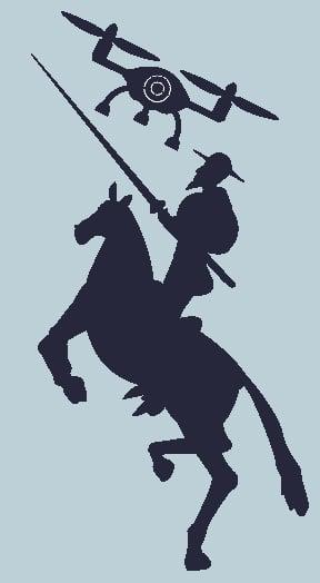 Image of Camiseta Dron Quijote t-shirt