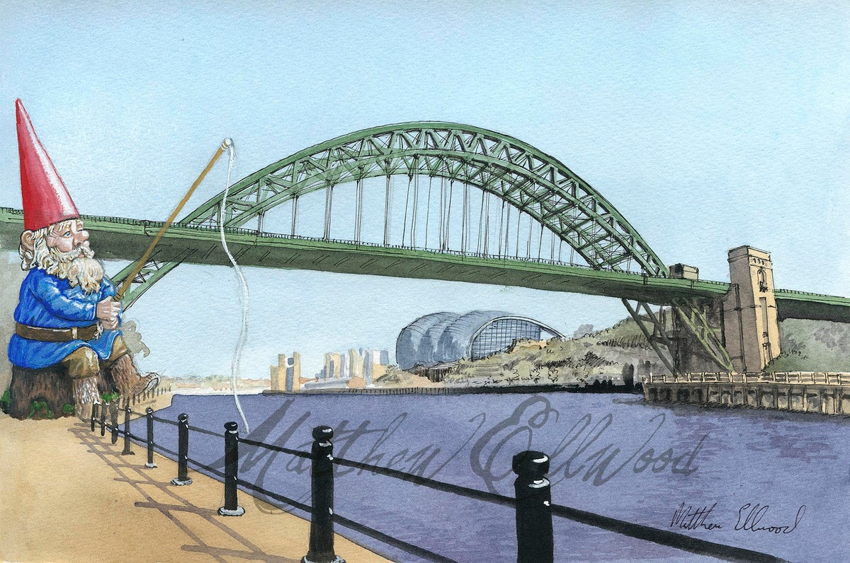 Image of Towering Monster(i) Gnome Fishing on the Tyne
