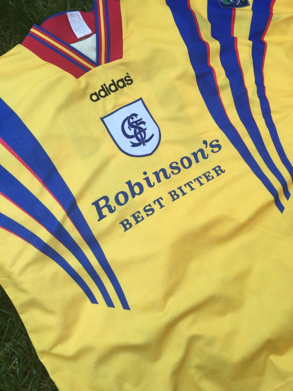 Image of Match Worn 1996/97 Damon Searle 'Romania' Shirt