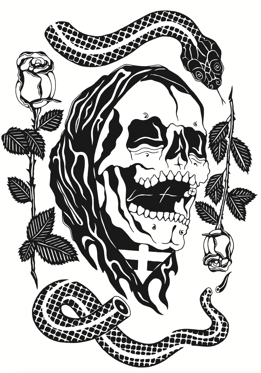 Image of Snake/Reaper Print