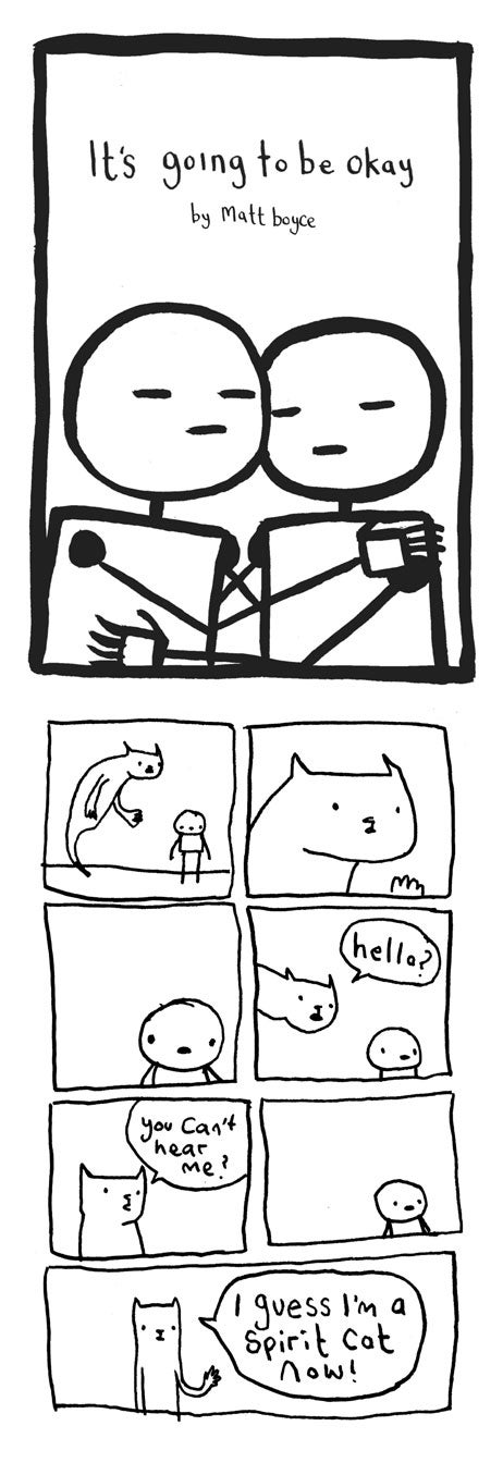 Image of It's going to be okay -  Comic